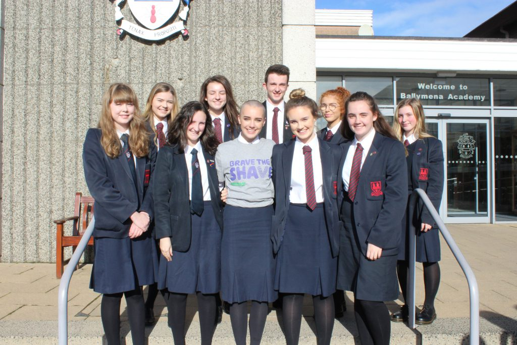 Brave The Shave For Macmillan Cancer Ballymena Academy