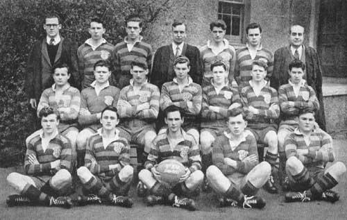 Ballymena Academy 1st XV, 1949 - 50