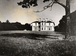 Morton's House, Knocknanure - the site of the present school.